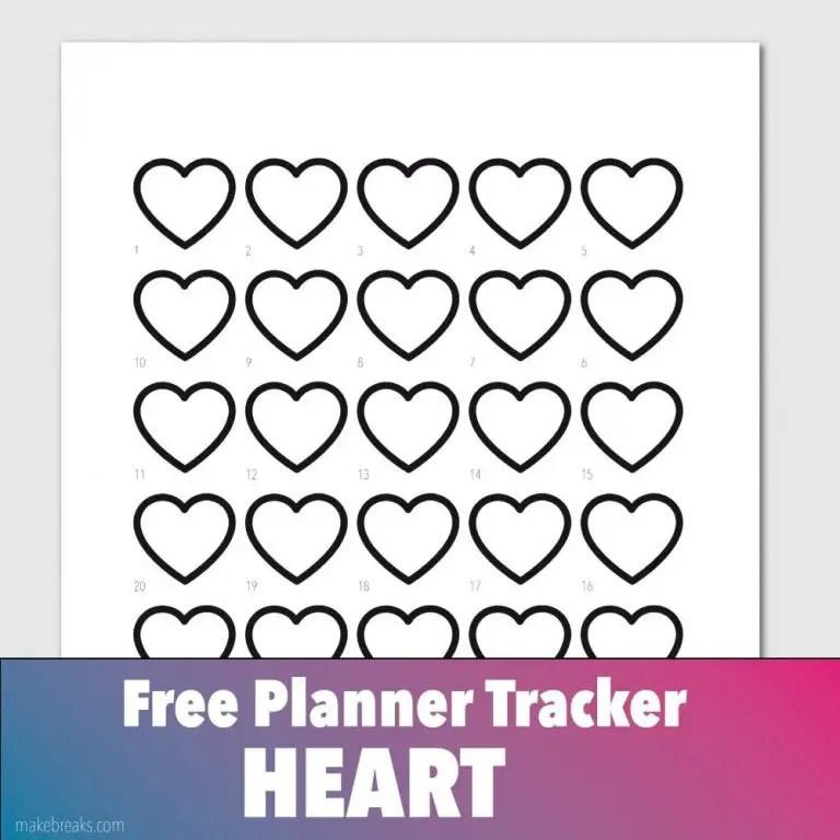 General tracker – heart – makebreaks