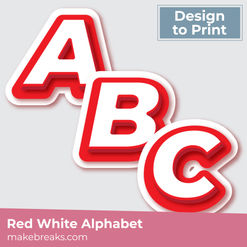 red-white-alphabet-sq-print