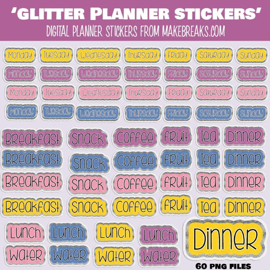 glitter days and food-01