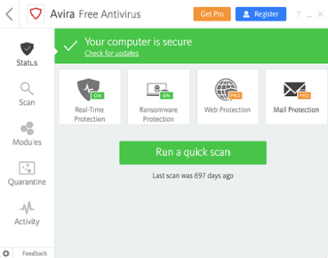 Avira Antivirus Pro 2021 Crack With Activation Code [Latest]