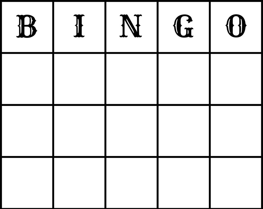Make Free Wedding Bingo Printout And Epson Xp212