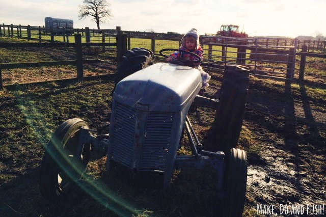 Tractor Mad Toddler!