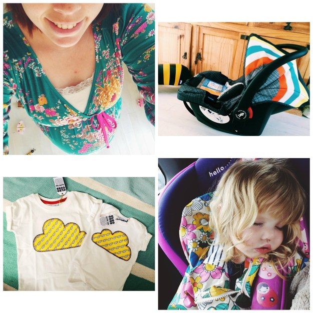 9. Sunshine and pretty dresses (Thursday) // 10. We are now completely prepared - thanks Cosatto! (Thursday) // 11. Happy matchy-matchy post! (Friday) // 12. Our Costa date was cancelled as someone fell asleep! (Saturday)