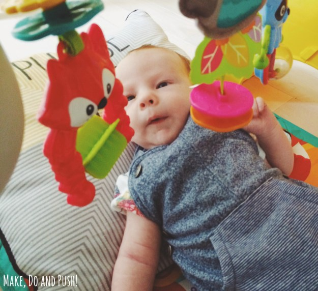 Review // Fisher Price Newborn-to-Toddler Play Gym