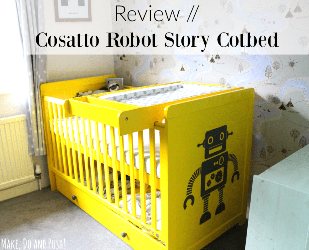 cosatto robot story cotbed review