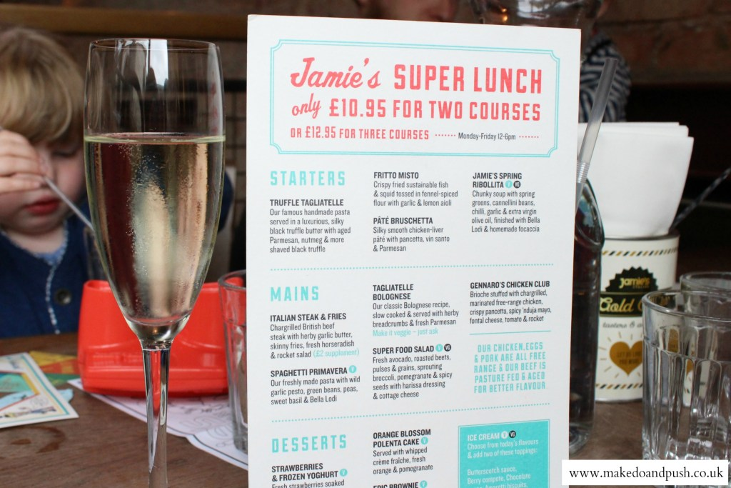 jamie's italian super lunch menu review 5