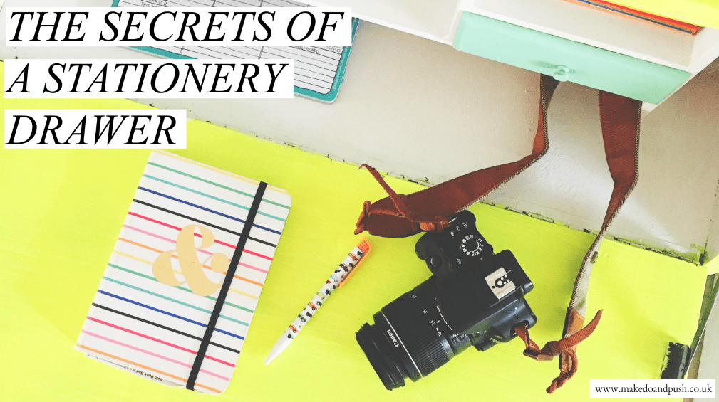 the secrets of a stationery drawer