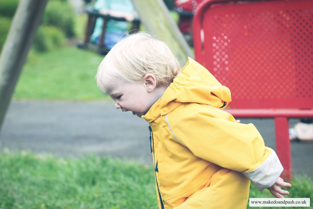 Shell Baby Jacket from Polarn O. Pyret review