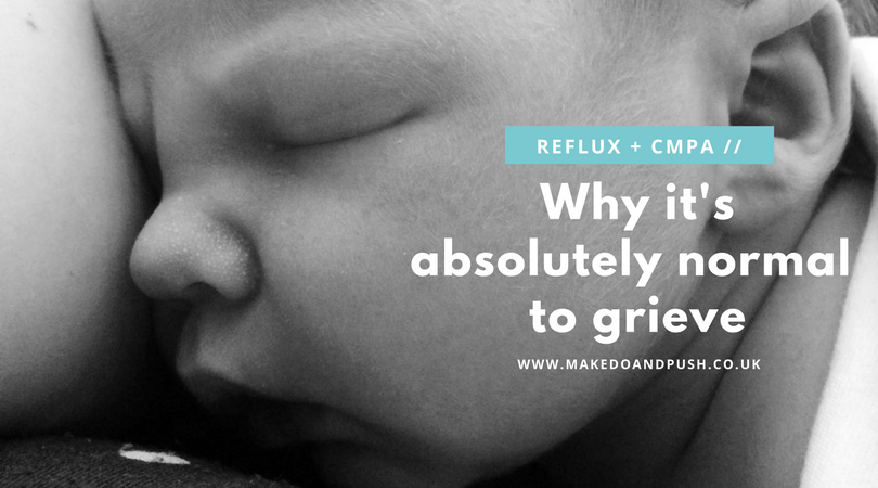 why it's absolutely normal to grieve reflux