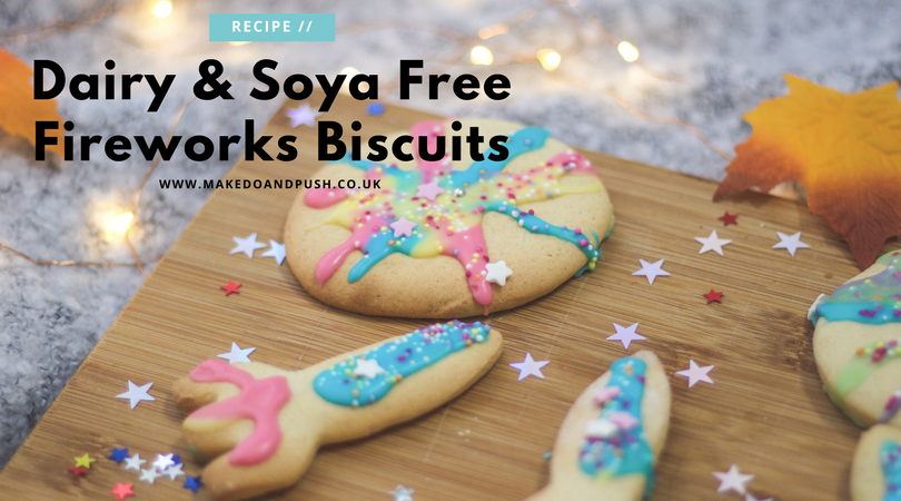 dairy and soya free fireworks biscuits