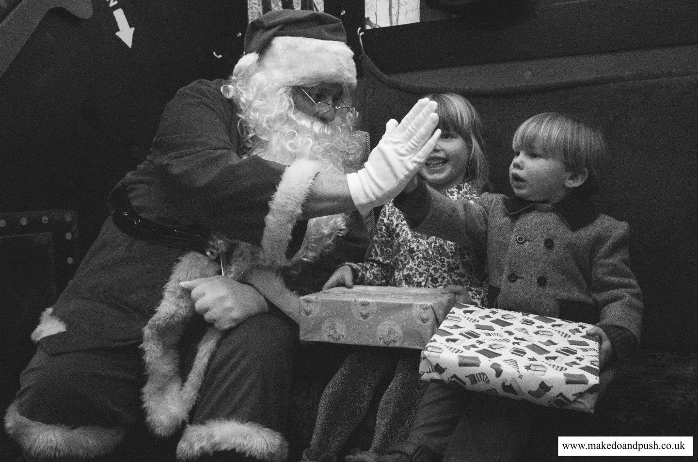 Father Christmas at NYMR