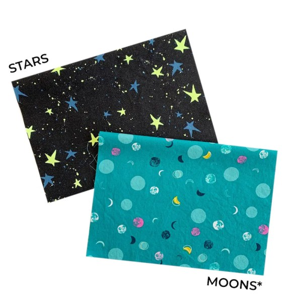 moon star mask fabric