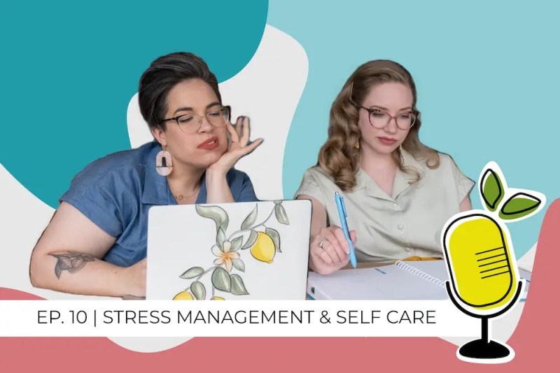 stress management and self care