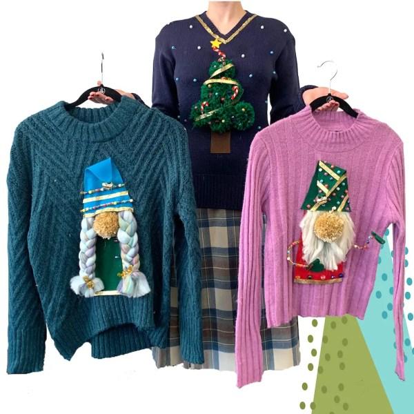 ugly Christmas sweater kit