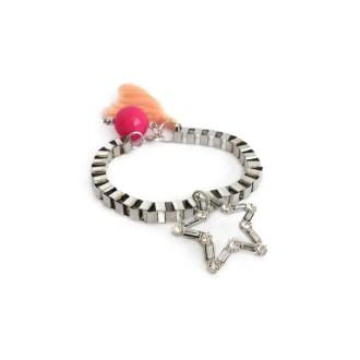 dónde comprar pulsera con estrella de cristales