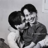 Aung San Suu Kyi and son (1995, Rangoon) Shared by Andrew Chester Ong