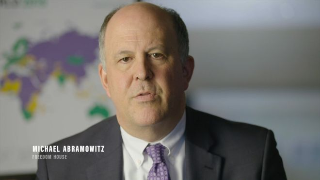 Michael Abramowitz - DISMANTLING DEMOCRACY | MAKE films original documentary