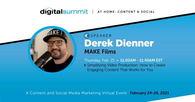 Derek Dienner - Digital Summit