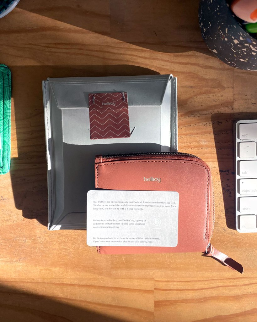 Bellroy Mini Pocket Pink Wallet