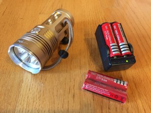 Skyfire LED flashlight