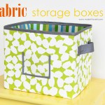 Diy Fabric Storage Boxes How To Make Per Your Request
