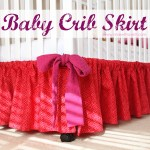 Baby Crib Skirt A Very Basic One Make It And Love It