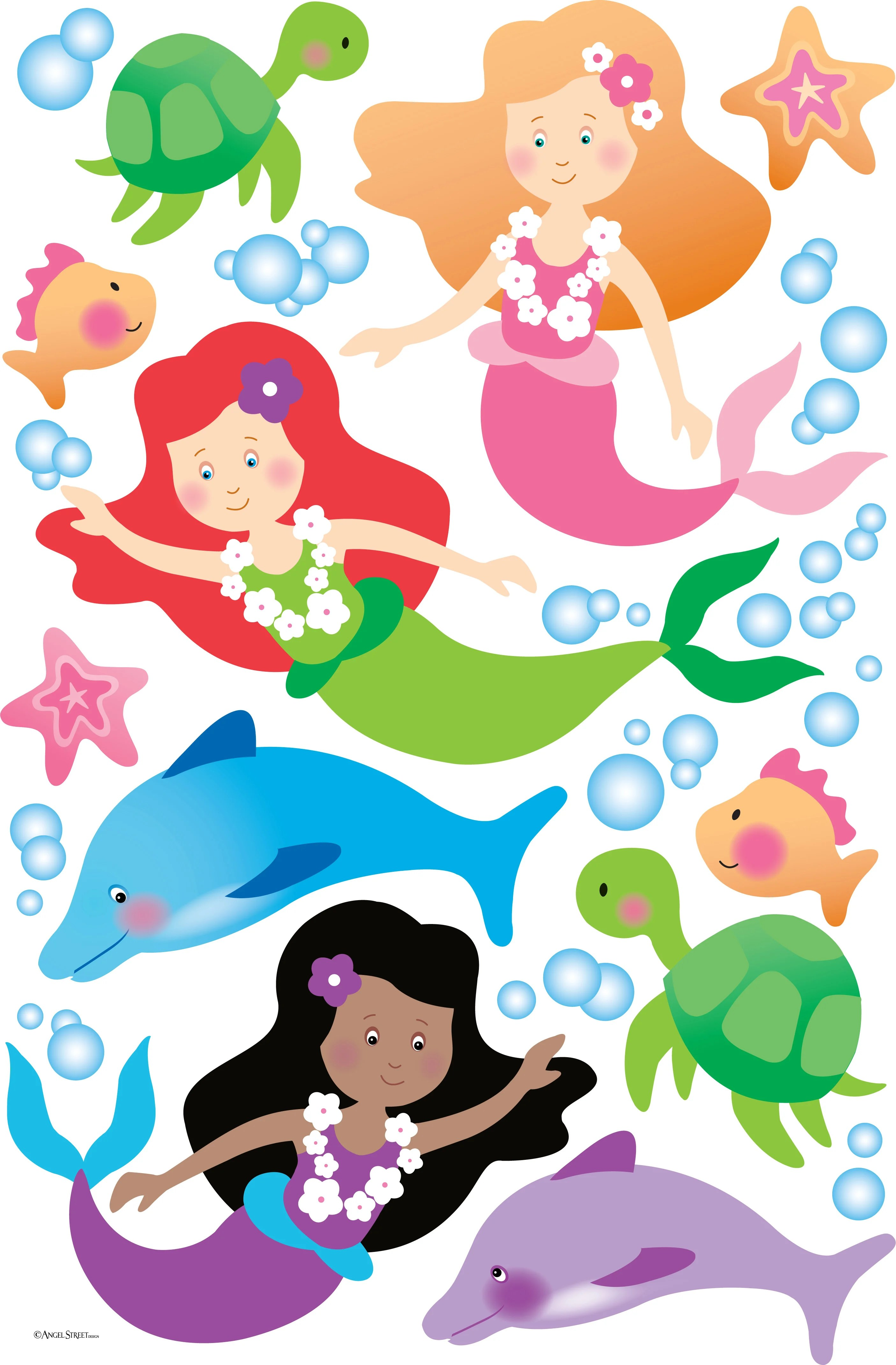 The Gallery For Gt Mermaid Paintings For Kids