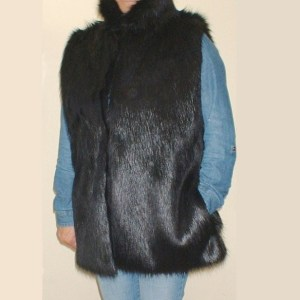 Fur Gilet by The Throw Company