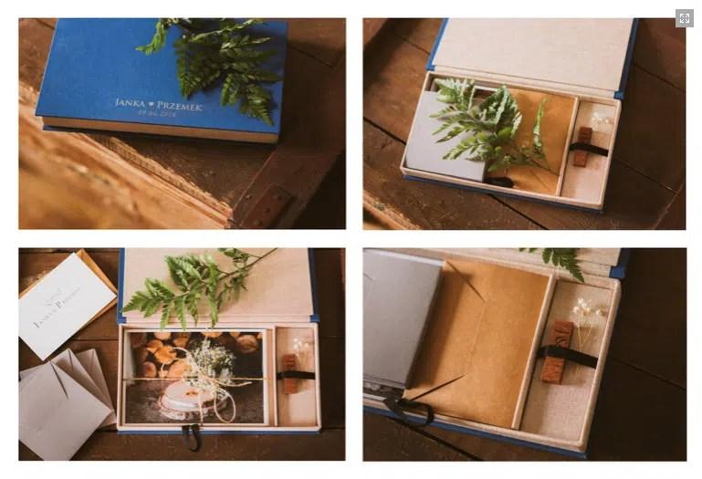 prezent na ślub pudełko na zdjęcia i pamiątki