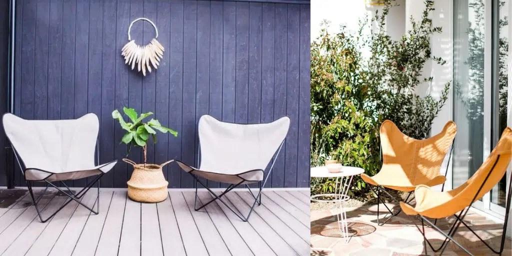 fotel na taras krzesło na balkon