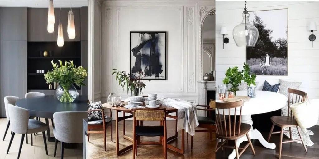 elegancki stół do jadalni