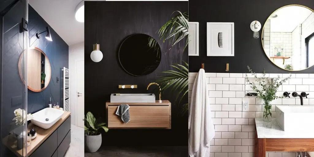 lustro do małej toalety