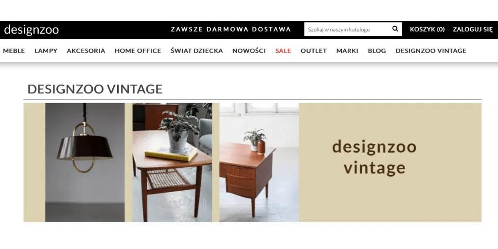 gdzie bezpiecznie kupić słynne projekty mebli znane designzoo vintage