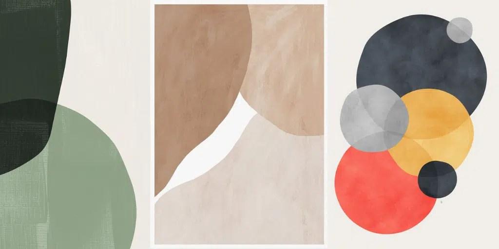 minimalistyczne obrazy nowoczesne szybkie do stworzenia