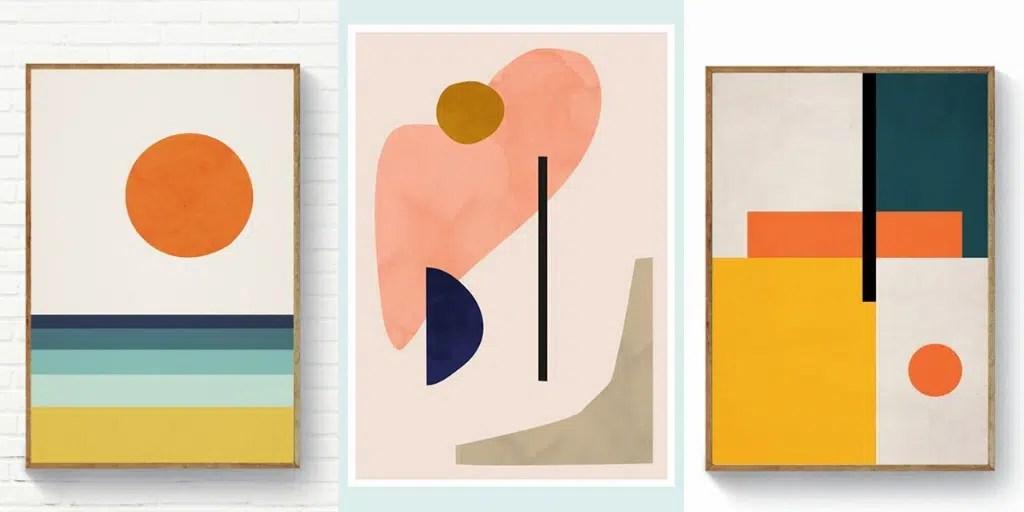 prosty obraz do namalowania graficzna abstrakcja akwarela