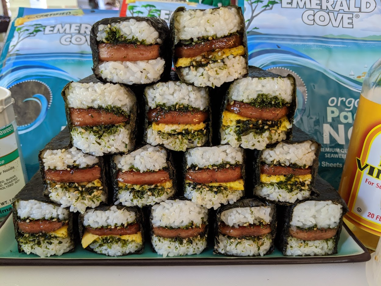 Gluten Free Spam Musubi Make It Gluten Free Celiac Safe