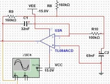 low pass filter circuit diagram eeg