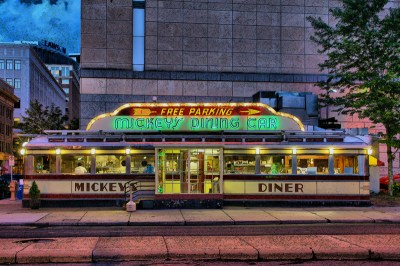 Mickey's Diner, Downtown Saint Paul.