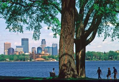 Lake Calhoun, Minneapolis, MN.