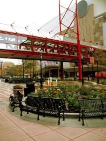 Target Center Skyway, Minneapolis, MN.
