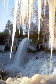 Frozen Minnehaha Falls, Minneapolis