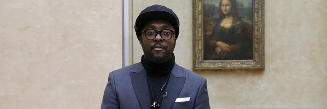Will.I.Am l'ambassadeur inattendu du Musée du Louvre !