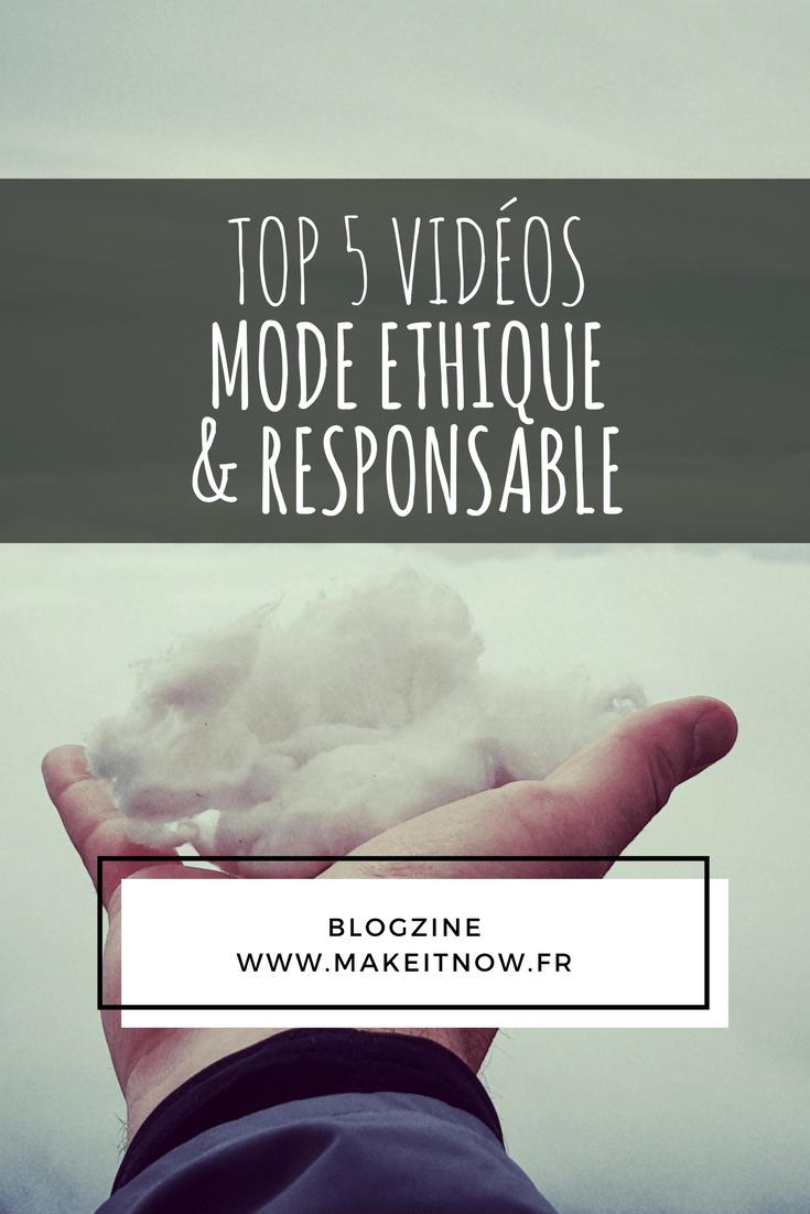 mode éthique et responsable