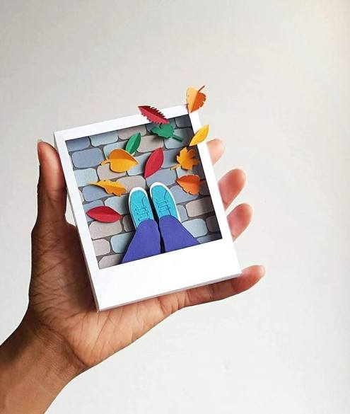 Top 10 paper art -Corinne- makeitnow.fr