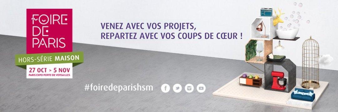 Foire de Paris Hors-Série Maison - Makeitnow.fr
