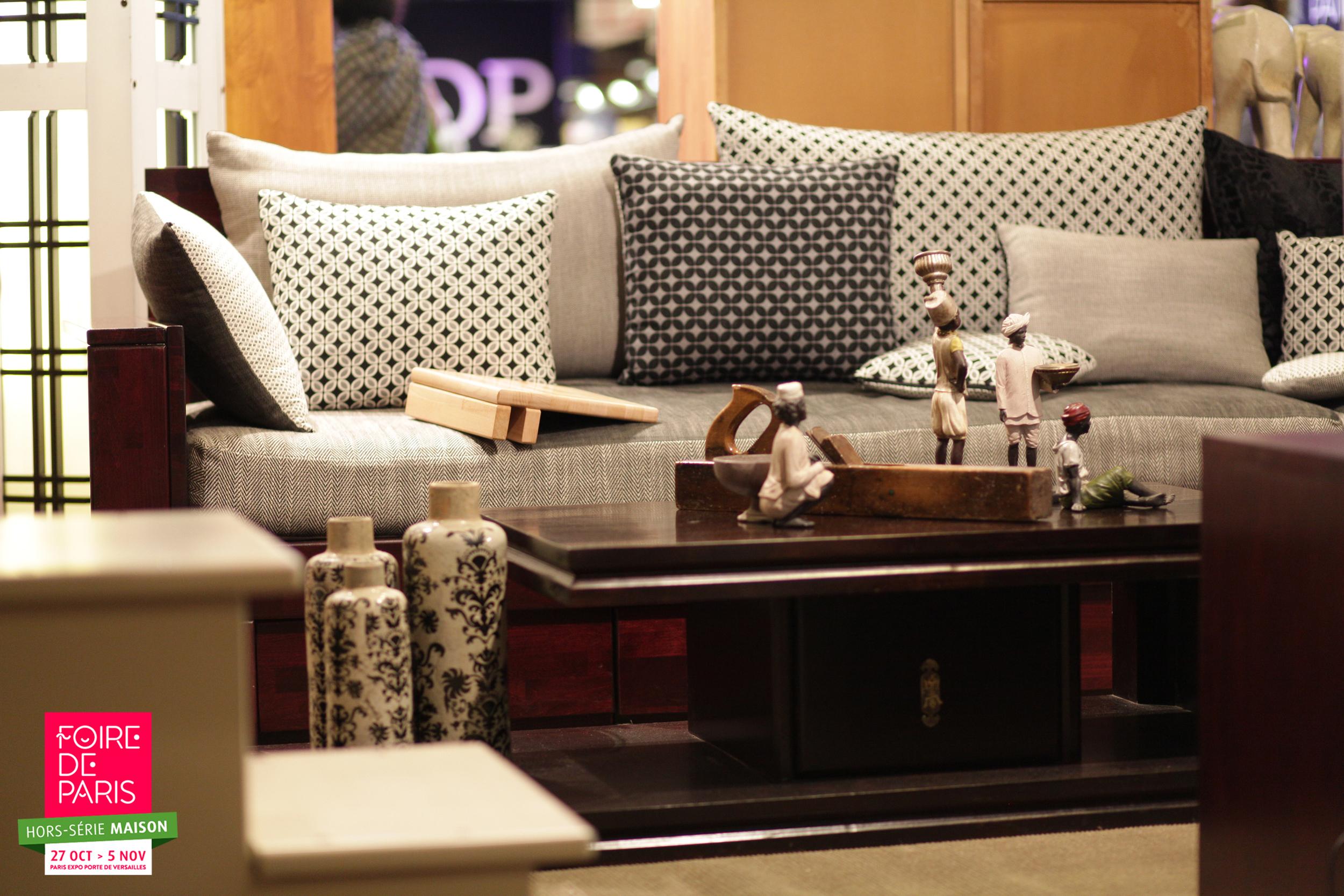 shopping et diy la foire de paris hors s rie maison. Black Bedroom Furniture Sets. Home Design Ideas