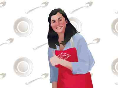 Valentine Foussier, co-fondatrice de Mamie Foodie