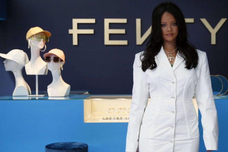 la maison de luxe FENTY, fondée par Rihanna