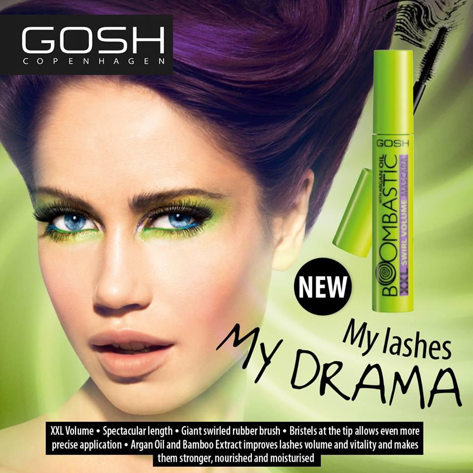 gosh boombastic xxl swirl volume mascara отзывы