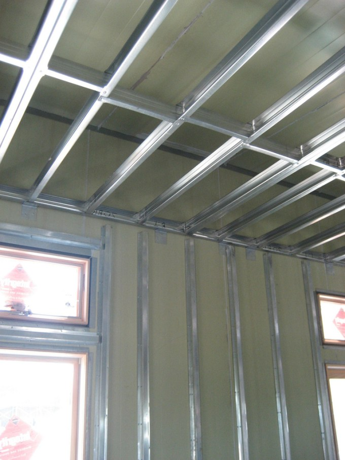 Ceiling Framing With Metal Studs